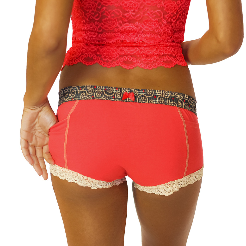 red boxer briefs for women hot tamale