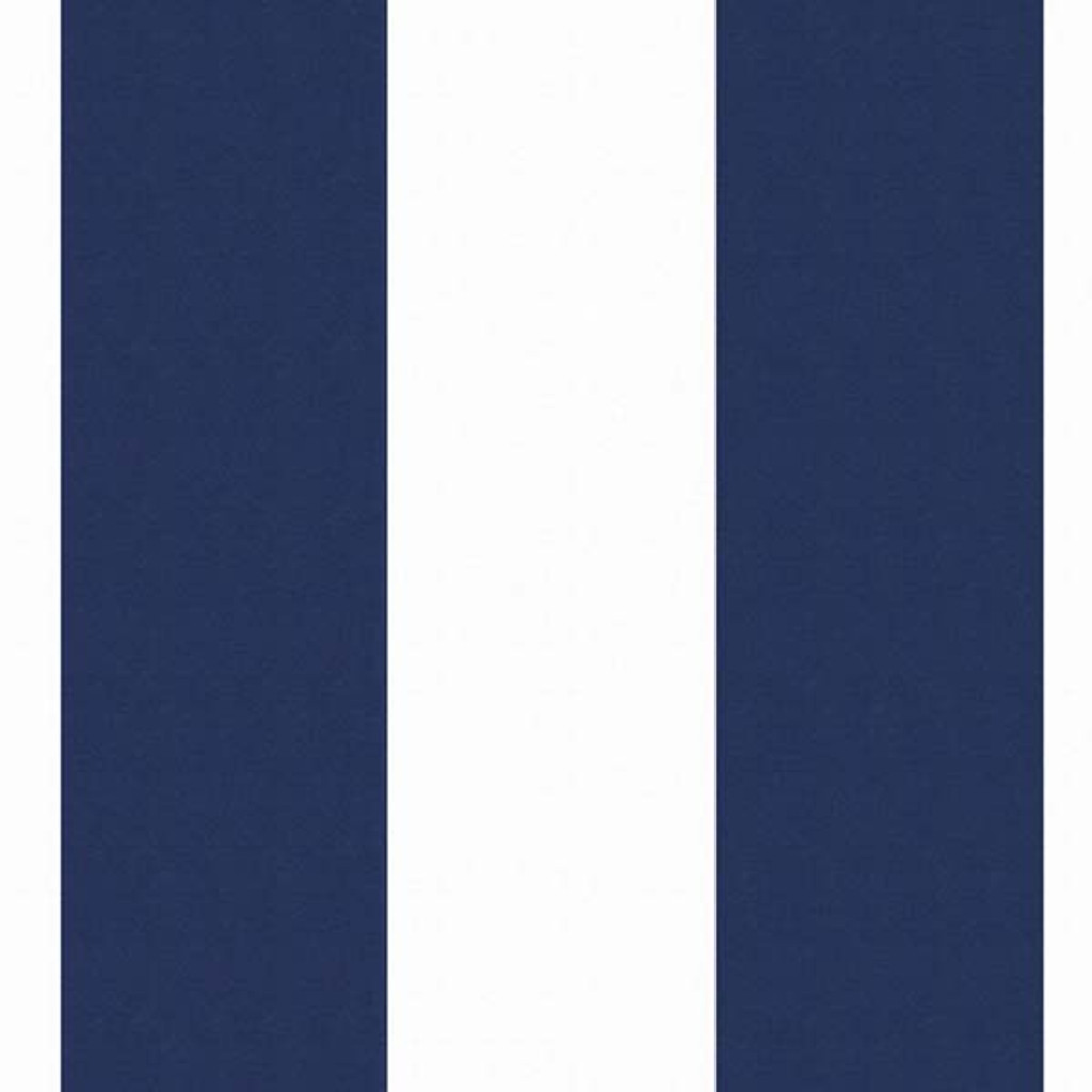 Navy and White Striped Straps Swatch