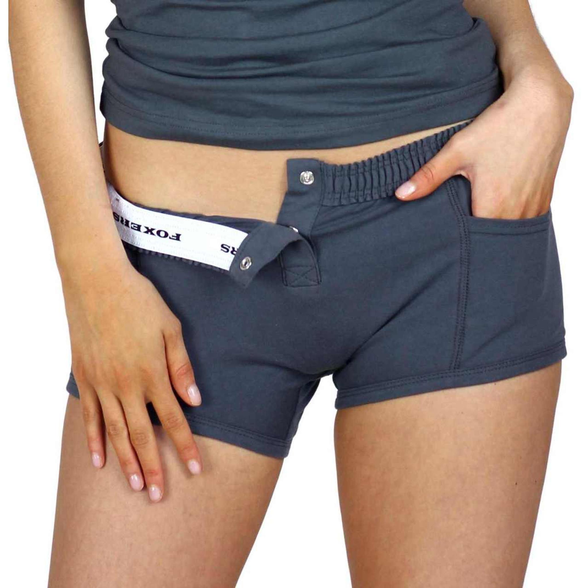 20fa868a2e4b Tomboy Underwear | Charcoal Charcoal Gray Tomboy Boxer Briefs Women's  Underwear ...