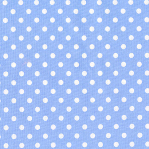 Light Blue Dot Waistband Swatch