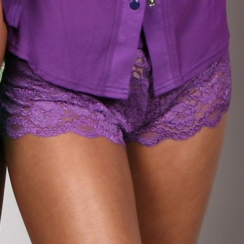 Grape Lace Boxer