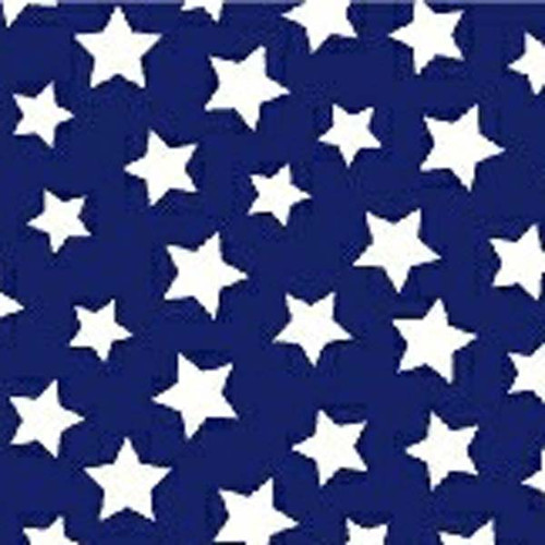 Navy Boxer Brief with Navy and White Star FOXERS Band