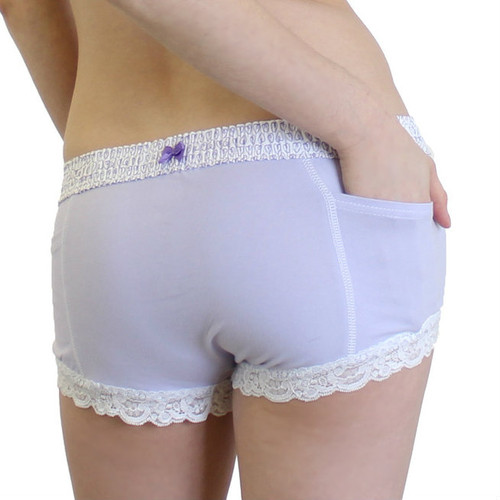 light purple boxer brief