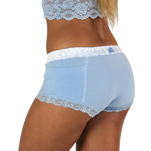 Trellis Blue Bridal Underwear