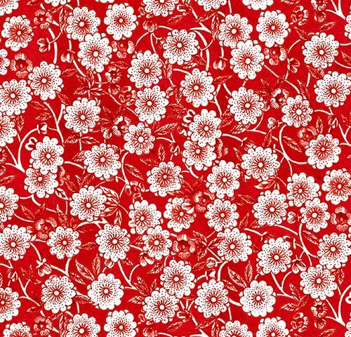 Flower Power Waistband Fabric