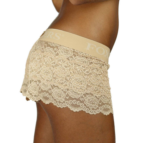 Our lace boxers are full coverage women's underwear that are  just a little bit cheeky!