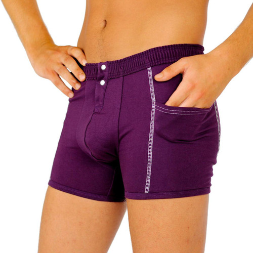 Mens Boxers with Pockets