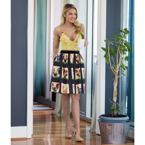 Country Girl Skirt With Pockets