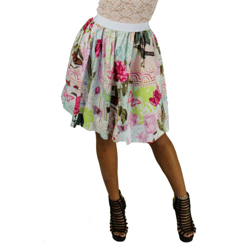 French Memoirs Skirt With Pockets (FXSKT-121)