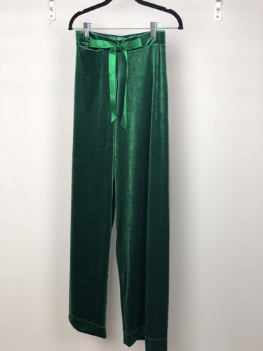 Green Velvet Lounge Pants