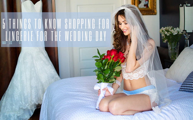 5 Things to Know Shopping for Lingerie for the Wedding Day