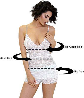 This is where to measure on your body to use our Size chart and pick out the perfect size for you.