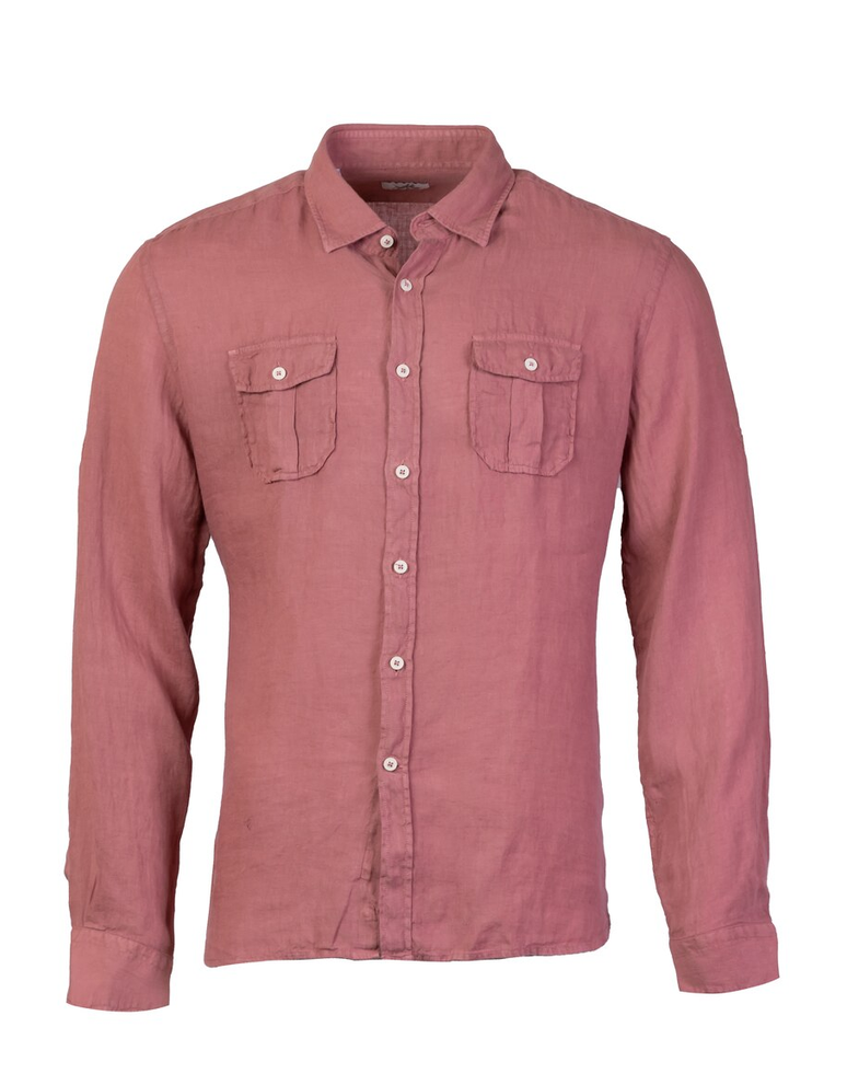 ALEA BUTTON DOWN LINEN SHIRT (available in multiple colors)