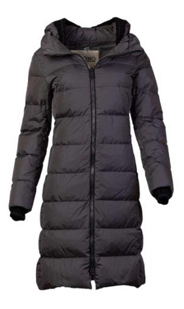 HERNO WOMEN'S DOWN WITH KNIT TRIM JACKET