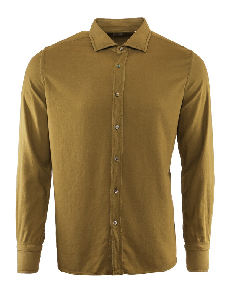 BOLZONELLA STONE WASHED BUTTON DOWN SHIRT