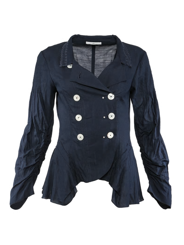 HIGH HITHERTO DOUBLE BREASTED SHIRT JACKET