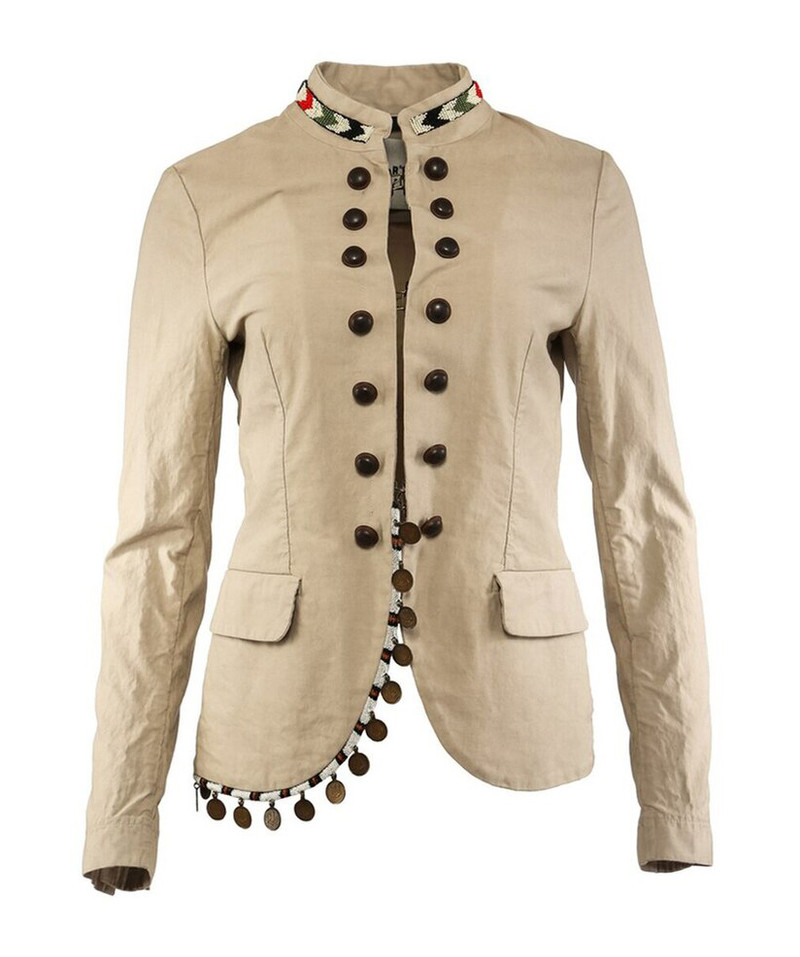 BAZAR DELUXE JACKET WITH COIN DETAIL