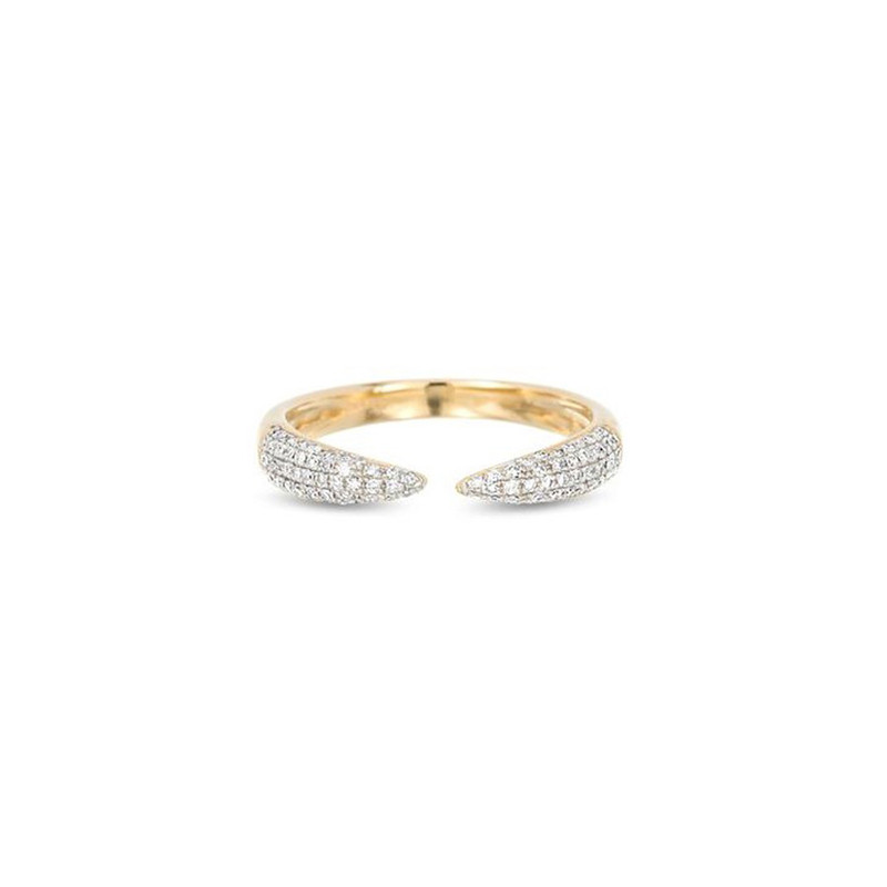 ADINA REYTER PAVE CLAW RING