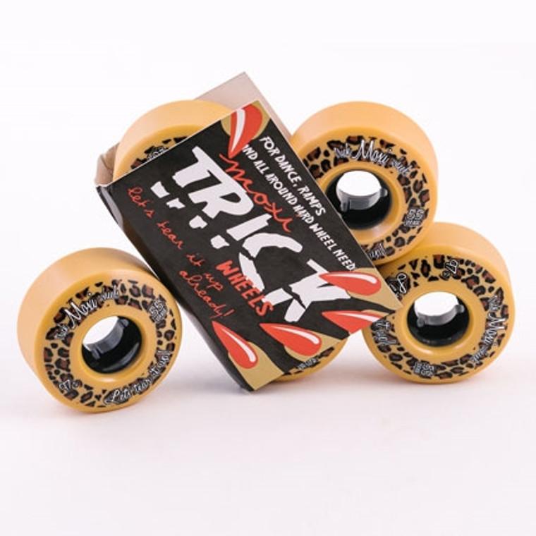 Moxi Trick  Tan Wheels 55mm 97a Park Wheels