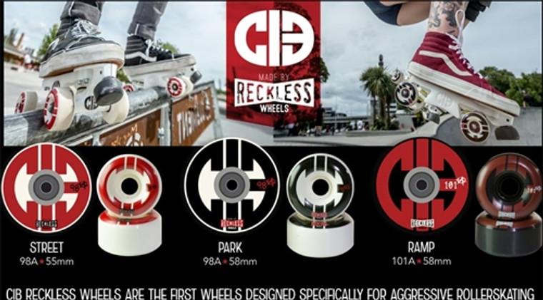CIB x Reckless Aggressive Skate Wheels