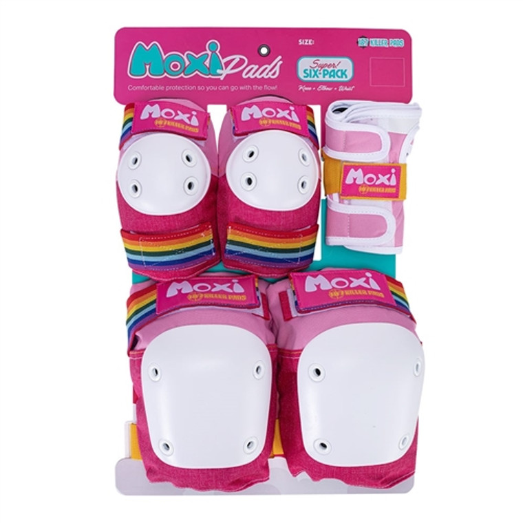 187 Moxi Super Six Pack Pad Set