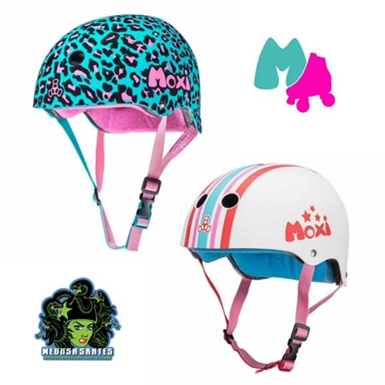 Moxi Triple 8 Dual Certified Sweatsaver Helmets