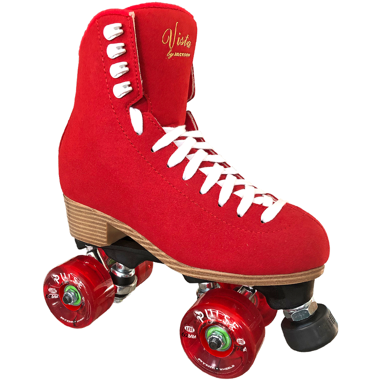 Jackson Viper Outdoor Skates in Red