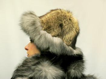 becf23090c2 New Silver Fox Hat 1 - furoutlet - fur coat