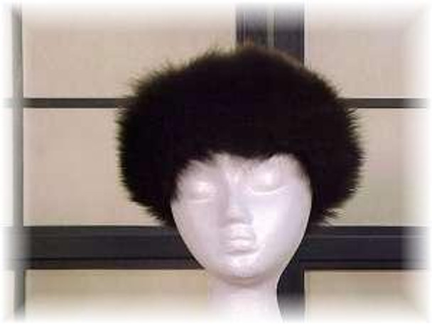 Full Skin Fisher Fur Head Wrap