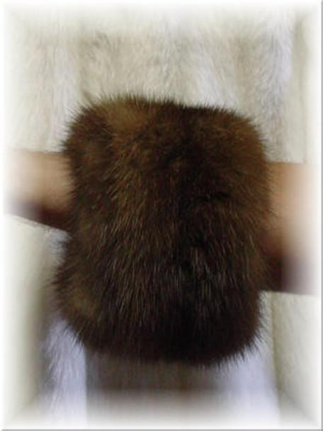 Sable Fur Cuffs