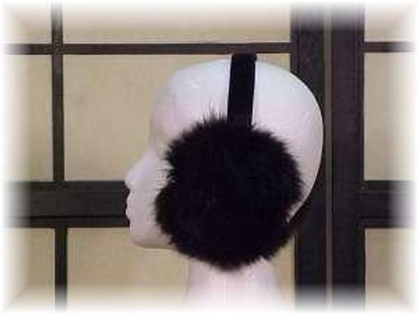Black Fox Earmuffs