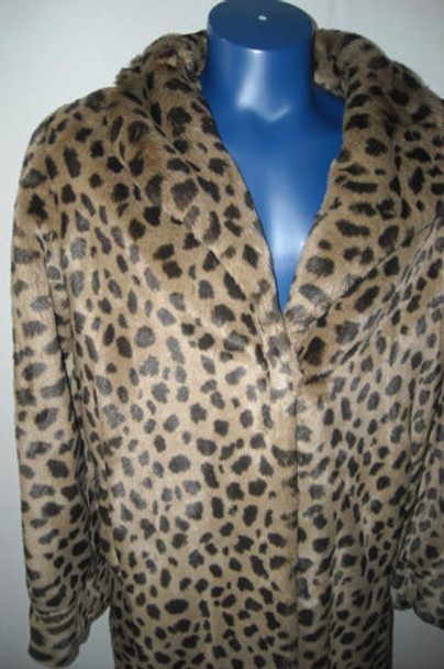 Faux Fur Designer Long Coat 2