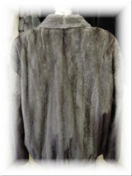 Full Skin Azurine Mink Bomber Fur Jacket
