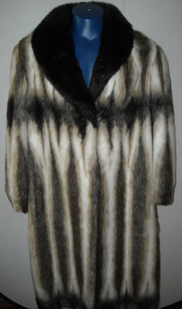 Faux Fur Designer Long Coat