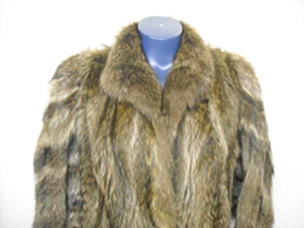 Vintage Full Skin Raccoon coat 2