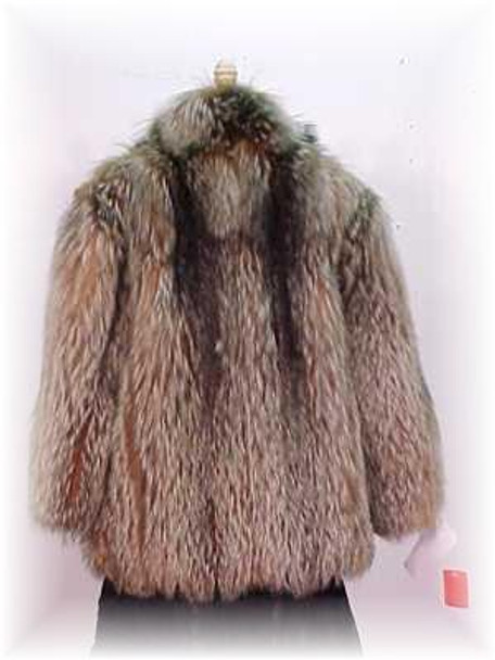 Full Skin Crystal Fox Fur Jacket 1