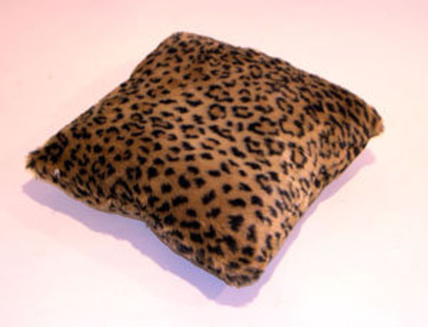 Leopard Print Fur Pillow