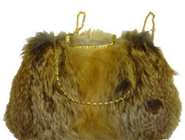 Red Fox Fur Bag