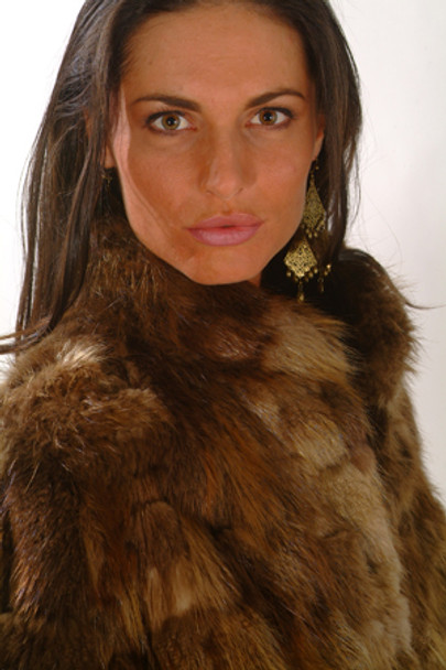 Vintage Women's Beaver Fur Jacket