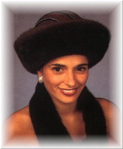 Mink Sailor Fur Hat 1