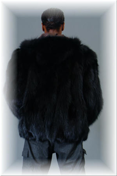 Fox Fur Bomber Jacket 2