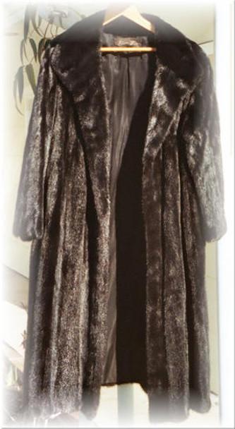 Full Skin Mink Fur Coat
