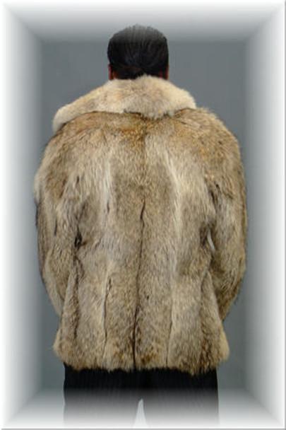 Coyotte Bomber Fur Jacket