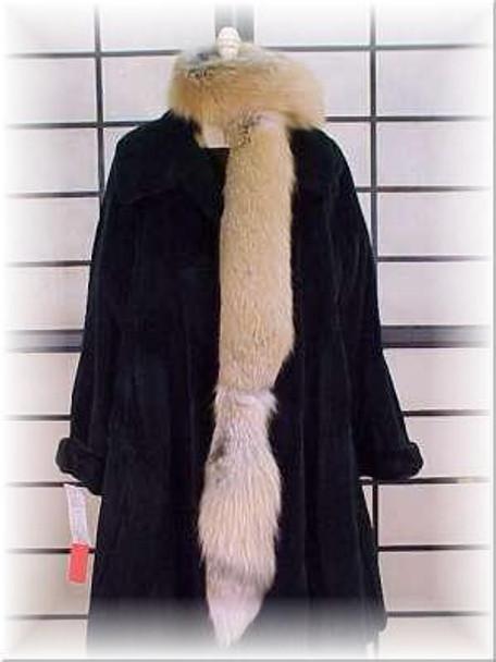 Golden Island Fox Fur Scarf