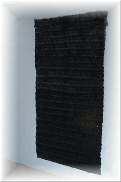 Black Mink Fur Plate 1