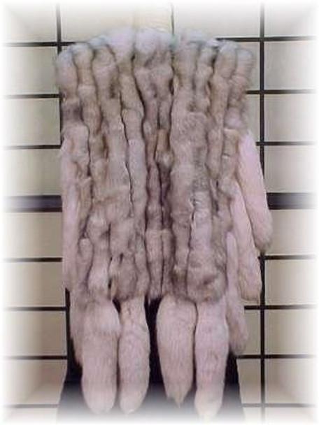 Fur Vest Blue Fox Design Tail
