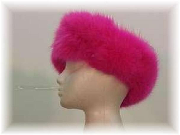 Pink Fox Headwrap