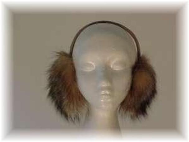 Crystal Fox Fur Earmuff
