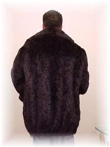 Brown Mink Bomber Fur Jacket 1
