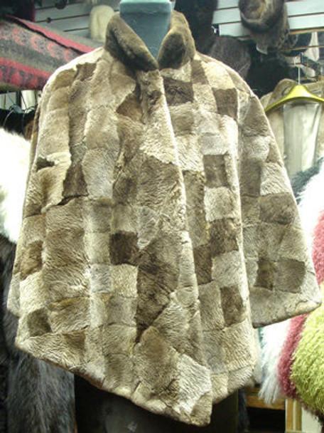 Sheared Beaver Cape